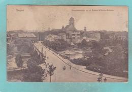 Small Post Card Of Ak Żagań Sagan Schlesien, Kaiser Wilhelm Brücke, Blick Auf Die Stadt,V83. - Postcards