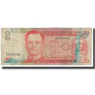 Billet, Philippines, 20 Piso, 1935, KM:182a, TB - Philippines