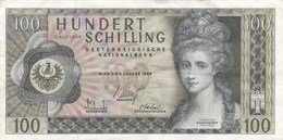Autriche - Billet De 100 Schilling - Angelika Kaufmann - 2 Janvier 1969 - 2-Auflage - Austria