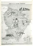 GUYANE FRANCAISE CARTE (scan Recto-verso) KEVREN0585 - Guyane