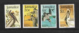 JAMAIQUE 1985 PELICANS  YVERT N°616/19  NEUF MNH** - Pélicans