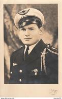 Rare Photo D'un Aviateur Avec Insigne Et Fourragère - 1939-45