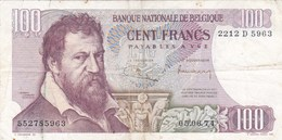 Belgique - Billet De 100 Francs - Lambert Lombard - 5 Juin 1974 - [ 2] 1831-... : Regno Del Belgio