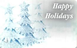 Happy Holidays Hotel Room Key Card - Hotel Keycards