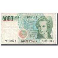 Billet, Italie, 5000 Lire, 1985, 1985-01-04, KM:111b, TB - [ 2] 1946-… : Repubblica