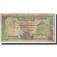 Billet, Sri Lanka, 10 Rupees, 1989, 1989-02-21, KM:96a, TB - Sri Lanka