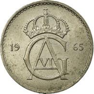 Monnaie, Suède, Gustaf VI, 10 Öre, 1965, TTB, Copper-nickel, KM:835 - Suède