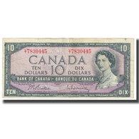 Billet, Canada, 10 Dollars, 1954, KM:79a, TB - Canada