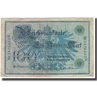 Billet, Allemagne, 100 Mark, 1908, 1908-02-07, KM:34, TTB - [ 2] 1871-1918 : German Empire