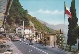 Douane. Poste Frontière Italo-Suisse. Lago Maggiore-Cannobio. Voitures - Douane