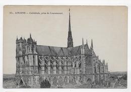 AMIENS - N° 351 - CATHEDRALE PRISE DU LOUVENCOURT - CPA VOYAGEE - Amiens