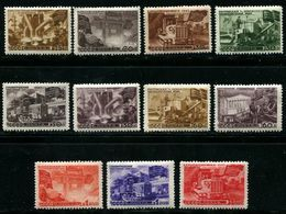 Russia 1947 Mi 1168-1178 A MNH OG - 1923-1991 USSR