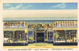 Maisel's Indian Trading Post - 510 W.Central Ave. Albuquerque New Mexico- Scans Recto Verso -  Paypal Free - Albuquerque