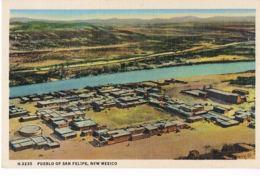 Pueblo Of San Felipe-  New Mexico- Scans Recto Verso -  Paypal Free - Autres
