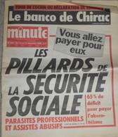 Rare Journal Minute Du 13 Au 19 Décembre  1978  Les Pillards De La Sécurité Sociale ,on Ose Encore Nous Coller Coluche - 1950 - Heute