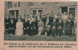 ETIKHOVE..1938.. DE BOERINNENBOND VIERT HET 25 JARIG BESTAAN - Non Classés