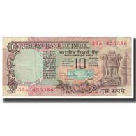 Billet, Inde, 10 Rupees, KM:81a, TTB - Inde