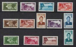 """Viet-Sud YT 1 à 13 """" Souverain Et Sites """" 1951 Neuf**/* MNH - Vietnam"""