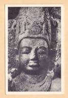 Central Face Of Mahadeva ( Hindu God Shiva) At The Elephanta Caves, Mumbai, India , Lot # IND 630 - India
