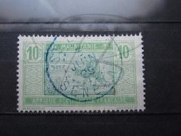 """VEND TIMBRE DE MAURITANIE N° 40 , CACHET BLEU """" ST-LOUIS - SENEGAL """" !!! - Used Stamps"""