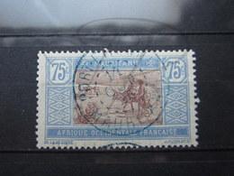 """VEND TIMBRE DE MAURITANIE N° 30 , CACHET BLEU """" PORT-ETIENNE """" !!! - Used Stamps"""