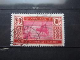 """VEND TIMBRE DE MAURITANIE N° 58 , OBLITERATION """" PORT-ETIENNE """" !!! - Mauritanie (1906-1944)"""