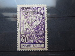 """VEND TIMBRE DE MAURITANIE N° 66 , OBLITERATION """" AKJOUIT """" !!! - Used Stamps"""