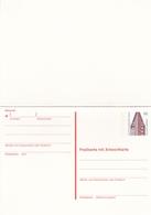 Berlin 40pfg Chilehaus Hamburg Postal Stationary Postcard With Reply Card Unused - [5] Berlin
