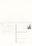 Berlin 60pfg Bavaria Munchen Postal Stationary Postcard With Reply Card Unused - [5] Berlin