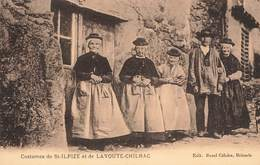 43 Costumes De St Saint Ilpize Et Lavoute Chilhac Costume Folklore Cpa - France
