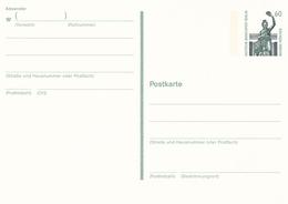 Berlin 60pfg Bavaria Munchen Postal Stationary Postcard Unused - [5] Berlin