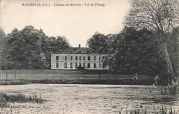 28 Hanches Chateau De Morville Vue De L' Etang Cpa Cachet 1933 - Autres Communes
