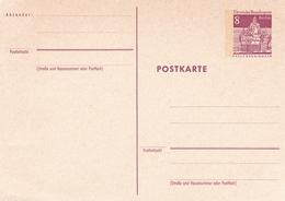Berlin 8pfg Pfalz Kaub/Rhein Postal Stationary Postcard Unused - [5] Berlin
