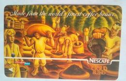 Singapore Transit Card   NESCAFE - Metro