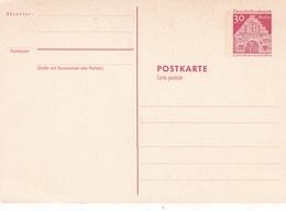 Berlin 30pfg Flensburg Schleswig Postal Stationary Reply Postcard Unused - [5] Berlin