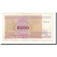 Billet, Bélarus, 5000 Rublei, 1998, KM:12, TTB - Belarus