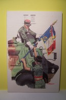 6 E REGIMENT DE COMMANDEMENT ET DE SOUTIEN  - 6 R.C.S. - VAB -  MILITARIA - Souvent A La Peine- Toujours A L'honneur - Reggimenti
