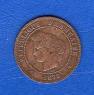 5  Cts  1875 A - France
