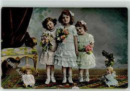 39271641 - Maedchen Blumenstrauss Series 1745 Nr 3 - Jeux Et Jouets