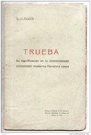 G. DE MUJICA . TRUEBA . SU SIGNIFICACION EN LA MODERNA LITERATURA VASCA . PAYS BASQUE - Réf. N°165L - - Ontwikkeling