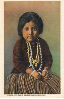 New Mexico- Yaz-Yah, A Navajo Girl  -Recto Verso- Paypal Free - Autres