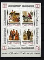 DÄNEMARK Block Mi-Nr. 6 Internationale Briefmarkenausstellung HAFNIA '87, Kopenhagen Postfrisch - Blocks & Kleinbögen
