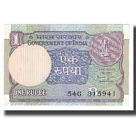 Billet, Inde, 1 Rupee, KM:78a, SPL - Inde