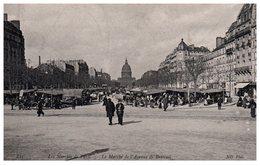 75  Paris  Le Marché De L'Avenue De Breteuil - Arrondissement: 07