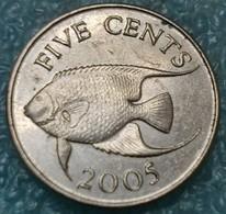 Bermuda 5 Cents, 2005 -4578 - Bermuda