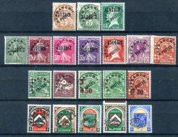 Algérie        Préoblitérés Complets 1/19  ** Luxe - Algérie (1924-1962)