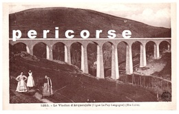 43  Le Viaduc D'Arquejols  (ligne Le Puy Langogne) - France