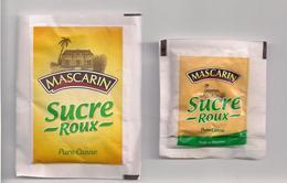 2 Sachets Sucre Roux Pure Canne MASCARIN  - Ile De La Réunion - - Sucres