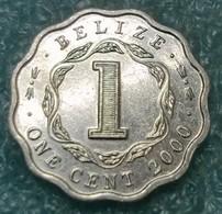 Belize 1 Cent, 2000 -4584 - Belize