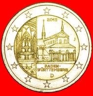 + BADEN-WUERTTEMBERG: GERMANY ★ 2 EURO 2013J! LOW START ★ NO RESERVE! - Germania